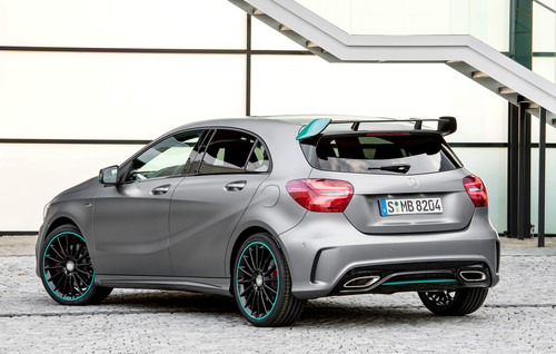 Mercedes-Benz A 250 4Matic Motorsport-Edition.