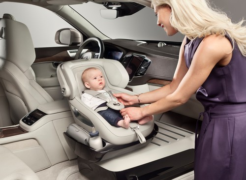 Excellence Child Seat Concept von Volvo.