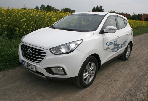 Hyundai ix35 Fuel Cell.