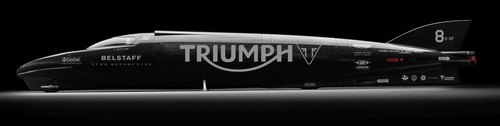 Triumph Rocket Streamliner.