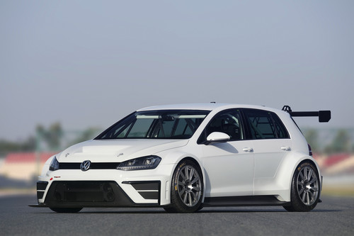 Volkswagen Golf Rennversion.