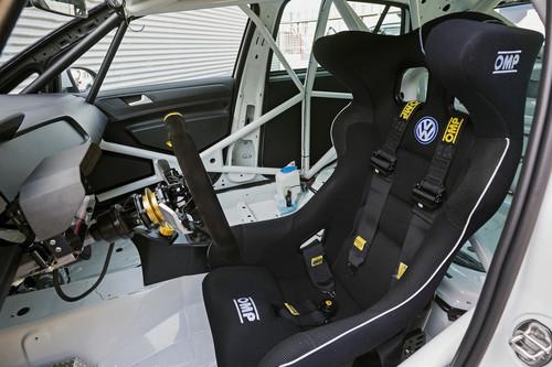 Volkswagen Golf Rennversion.