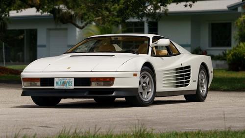 """Ferrari Testrossa aus der Fernsehserie """"Miami Vice""""."""