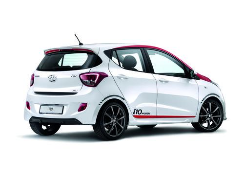 Hyundai i10 Sport.