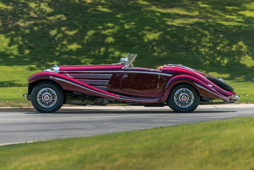 Mercedes-Benz 540 K Special Roadster (1938).