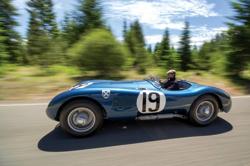 Jaguar C-Type (1953).