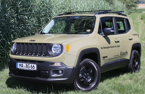 Jeep Renegade Hunter.