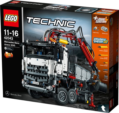 Mercedes-Benz Arocs 3245 von Lego Technic.