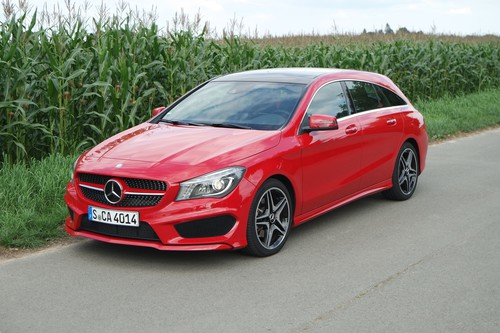Mercedes-Benz CLA 250 4Matic Shooting Brake.