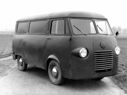 Ford Transit-Historie: Prototyp von 1952.