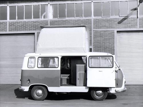 Ford Transit-Historie: Bereits 1957 gab es das erste Wohnmobil auf Ford-Basis, noch auf dem FK 1000.