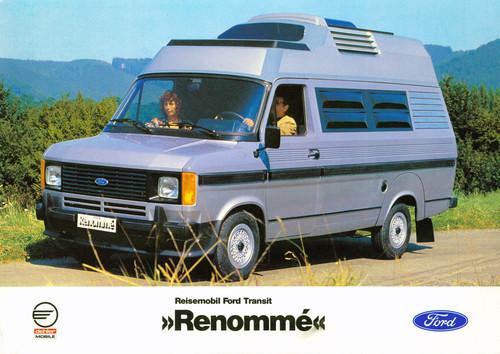 Ford Transit-Historie: Ford Transit Renommé vpm Yachtbauer Dehler.