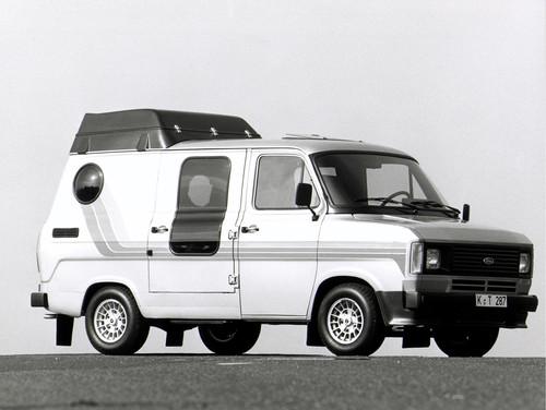 Ford Transit-Historie. Der erste Van aus Köln - das Ford Transit Clubmobil.