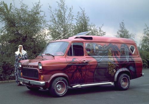 Ford Transit-Historie: Ford Transit - besser als Pferd oder Kamel.