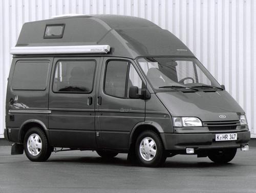 Ford Transit-Historie: Ford Hochdach-Nugget von 1993.