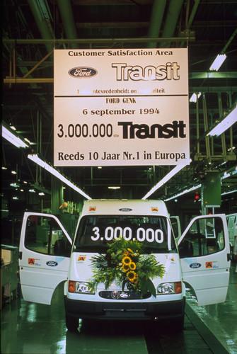Ford Transit-Historie: Produktionsjubiläum 1994.