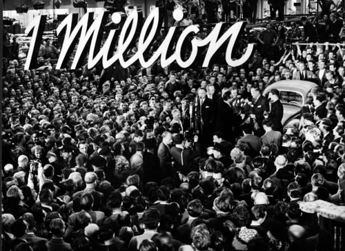 Volkswagen knackt die erste Million.