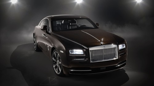 "Rolls-Royce Wraith ""Inspired By Music""."