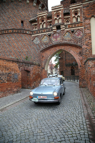 Hamburg-Berlin-Klassik 2015: VW 1600 L (1973).