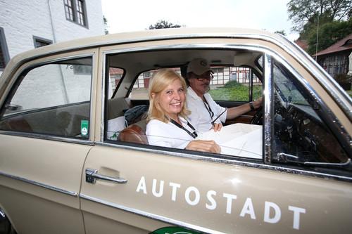 Hamburg-Berlin-Klassik 2015: Sabine Postel und Andreas Hoppe.