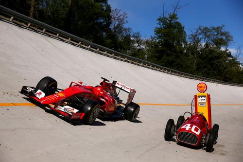 Ferrari Formel 1 schon seit Jahrzehnten in Kooperation mit Shell.