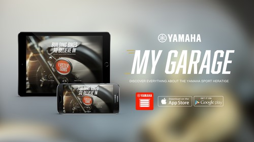 "Yamaha-App ""My Garage""."