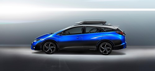 Honda Civic Tourer Active Life Concept.