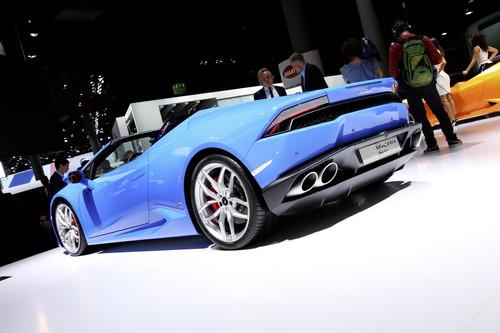 Lamborghini Huracan Spyder.