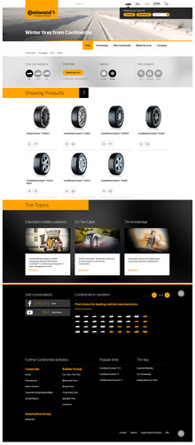 Continental Website.