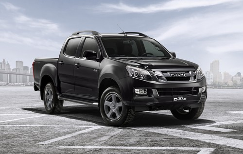 Isuzu D-Max Limited Edition.