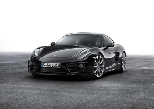 Porsche Cayman Black Edition.