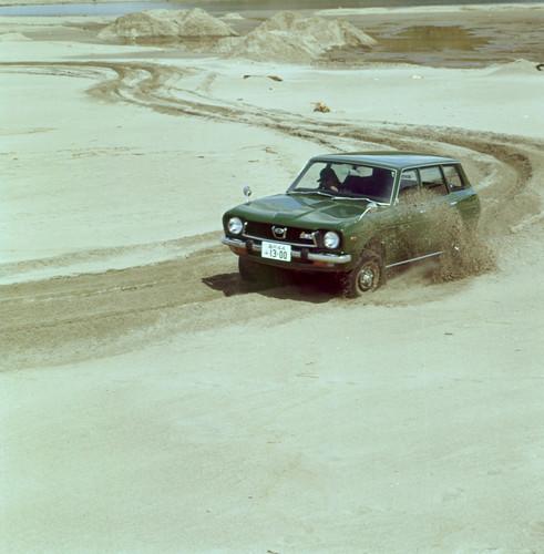 Subaru Leone Station Wagon (1972).
