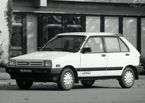 Subaru Justy 1.2 (1987).