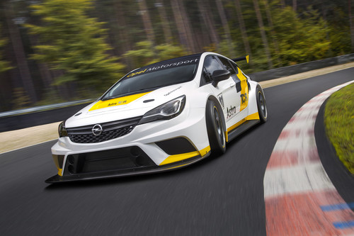 Opel Astra TCR.
