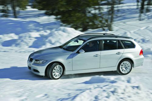 BMW 330xi.