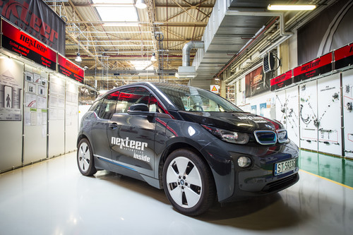 BMW i3 mit Single Pinion EPS.