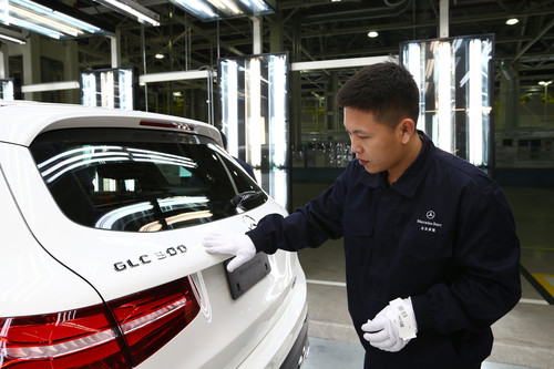 Produktionsstart für Mercedes-Benz GLC in China.