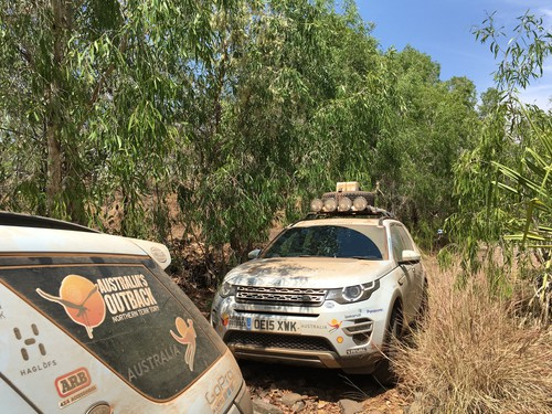 Land Rover Experience Tour 2015, 2. Etappe.