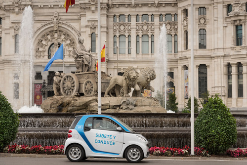 Zum Artikel Car2go goes Madrid
