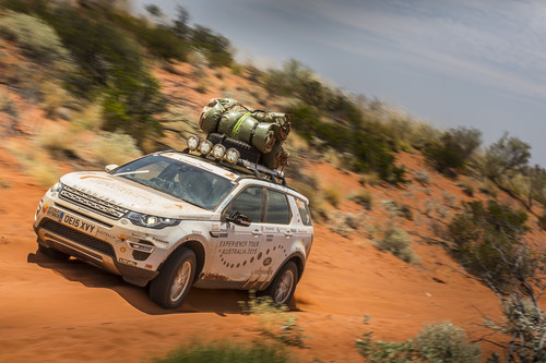Land Rover Experience Tour 2015.