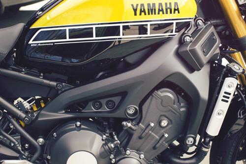 Yamaha XSR 900.