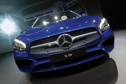Mercedes-Benz SL 550.