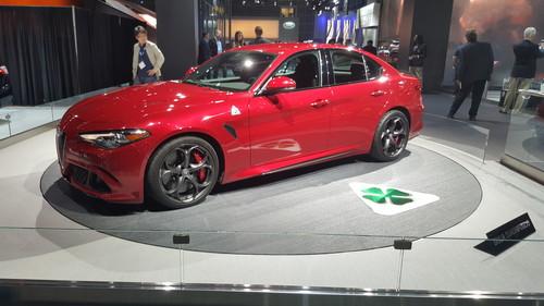 Alfa Romeo Guilia.