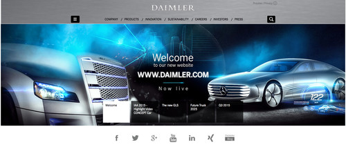 Daimler Corporate Website.