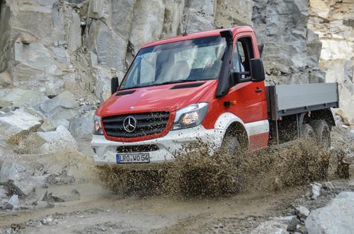 Feuerwehrfahrzeug Bimobil EX 510 Bocklet Dakar 750 auf Basis des Mercedes-Benz Sprinter 6x6 von Oberaigner.