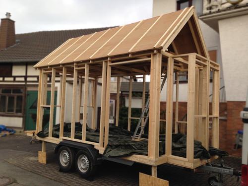 tiny house acht quadratmeter wohn t raum auf r dern. Black Bedroom Furniture Sets. Home Design Ideas