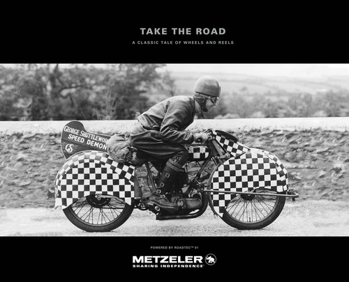"Metzeler-Kalender 2016: ""Take the Road""."