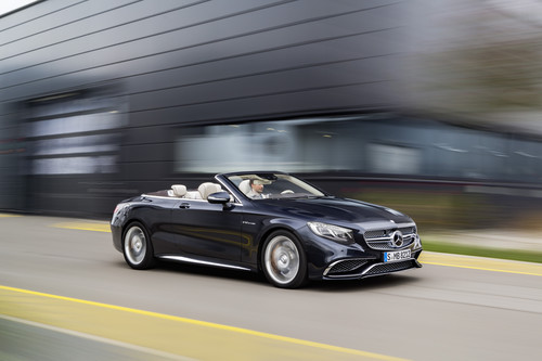 Mercedes-AMG S 65 Cabriolet.