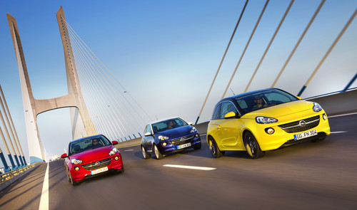 Opel Adam Rocks Unlimited.