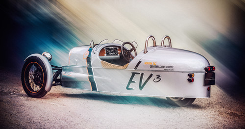 Morgan Threewheeler EV.